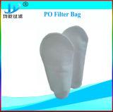 50 Mícron Anel de PP de poliéster branco termofusível saco de filtro de líquido