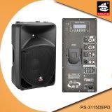 15 Zoll 350W Digital Ampere Bluetooth EQ für iPod PlastikActive PA-Lautsprecher PS-3115DEPD