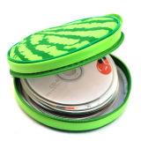 車媒体の記憶のCD袋-20のための新しいスイカパターンポータブル24ディスク容量DVDのCDパルスの箱