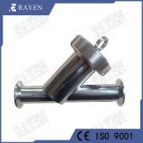 O SUS304 ou 316L de aço inoxidável Y Filtrador sanitárias do Filtro