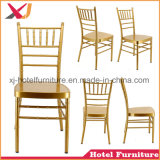 호텔을%s 튼튼한 알루미늄 또는 Chiavari 강철 아크릴 의자 또는 결혼식 또는 연회
