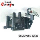 Bobina di accesione automatico. Serie moderna, KIA, 1.6/1.3 rapidi, Elantra, Shen Vate, Yueda, modello ecc.: 27301-22600.