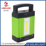 MP3-Player-Solarlicht mit 9V 3 Watt-Sonnenkollektor-Ladung