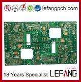 Placa rígida do PWB do PWB do circuito integrado para a eletrônica