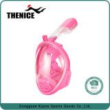 Masque antibrouillard de natation de pleine face de vue de 180 degrés de masque de prise d'air de vue panoramique