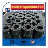 Brida de hilo de montaje del tubo de acero al carbono