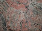 赤いJuparanaの多色刷りの赤いフロアーリングの築壁の花こう岩の平板のタイル