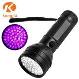 51 LEDペット尿のお金の検出のBlacklight 395nmの紫外線懐中電燈