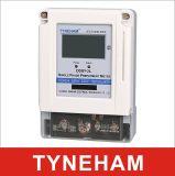Ddsy-2L enige Fase Twee LCD van de Meter van de Kaart van de Meter van het Wattuur van Presell van de Draad Type
