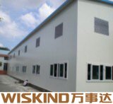 Prefabricados de la luz de la casa de estructura de acero con alta resistencia