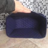 감색 2 조각 토스터 덮개에 의하여 누비질되는 직물 먼지 방지용 커버 부엌 저장 작은 기구 덮개