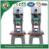 Af63tを並べさせる機械にアルミホイルの食糧容器