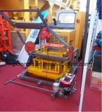 Qm4-45ディーゼル機関油圧圧力具体的な煉瓦作成機械