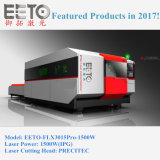 Machine de laser de qualité de Flx3015-1500W pour le découpage en métal