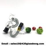 420 Glasrohr-rauchendes Zubehör-Aschen-Fangfederblech-Glaswasser-Großhandelsrohr mit Fabrik-Preis