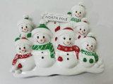 Polyresinの白くまのクリスマスの装飾