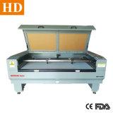 Doppelte Hauptdoppelkopf-Laser-Ausschnitt-Maschinen-Fabrik