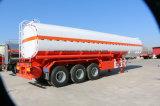 3 árboles 4000 litros de petróleo de semi-remolque del tanque para la venta
