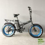 Pedal 助けられた折る雪の電気脂肪質のバイク