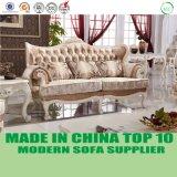 豪華なビロードファブリック新古典主義の居間のソファーの家具