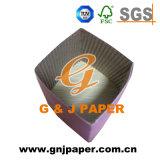 Luva de xícara de café de papel ondulado com impressão de logotipo