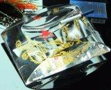 Asbakje het van uitstekende kwaliteit van de Sigaret van het Tafelblad van het Kristal van de Decoratie van het Bureau van het Huis