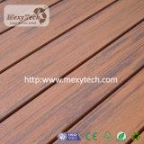 Decking en bois en plastique mélangé réutilisé