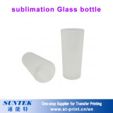 Botella de consumición transparente de la botella de agua de cristal de Suntek 420ml para la sublimación