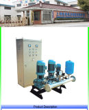 Fluxo variável do LG que aquece a fábrica de regulamento do equipamento de fonte de água da pressão automática do vetor direta