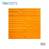 Panneau 3D insonorisé décoratif intérieur de fibre de polyester de Retartant de flamme pour le panneau de mur
