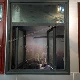 Высокомарочное алюминиевое окно с деятельностью Casement открытой (JFS-55002)