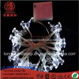 Lumière de bille de contrôleur de batterie de la décoration 10m100 DEL DEL de Noël