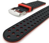 Doppia cinghia di sport del cinturino del silicone di colore per la frontiera dell'attrezzo S3 di Samsung/fascia classica 18mm 20mm del rimontaggio del cinturino 22mm 24mm