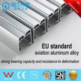 Pièce de douche fixe de porte coulissante de l'alliage d'aluminium deux faisants le coin de forme de secteur (BL-Z3511)