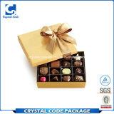 Heißes Stempel-Firmenzeichen-Druckenmatt-Schokoladen-Geschenk-Papierkasten