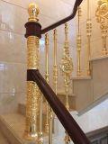 Form-festes Holz-Treppenhaus-Aluminiumhandlauf