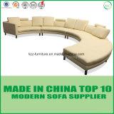 Freizeit-Art-Leder-Wohnzimmer-Sofa-Möbel