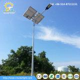 indicatore luminoso di via solare 100W con i 10m Palo galvanizzato caldo