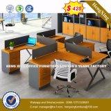 La partición de la Oficina de vidrio aluminio/Estación de trabajo /Office Pantalla (HX-8N0234)