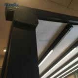 대중음식점 PVC 철회 가능한 Pergola 안뜰 차일은 LED 빛으로 시스템을 커버한다