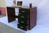 خشبيّة [أفّيس كمبوتر] مكتب طاولة مع رفّ كتب