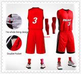 夏のカスタム子供のバスケットボールのスーツ