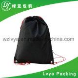 Sac de cordon de polyester pour le sac à dos de nylon de chaussures