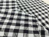 El hilo de algodón teñió la verificación Fabric-Lz8612 del telar jacquar