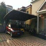Polycarbonate/PC Auto/Autoparkplatz verschüttet/Auto Camopy/Auto-Markisen mit Aluminiumrahmen für Auto-Parken