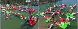 Preiswerte aufblasbare sich hin- und herbewegende Insel, kommerzieller aufblasbarer Wasserpark, aufblasbare Wasser-Spiele