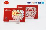Het Chinese Plastic Adreskaartje van de Fabrikant