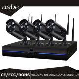 cámara sin hilos del CCTV de la seguridad del IP del kit del sistema de 1080P 4CH WiFi NVR