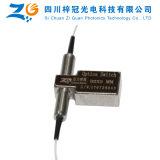 1260-1650nm se doblan interruptor óptico mecánico de fibra del solo modo 2X2