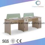 Table en bois moderne station de travail de bureau avec le Cabinet